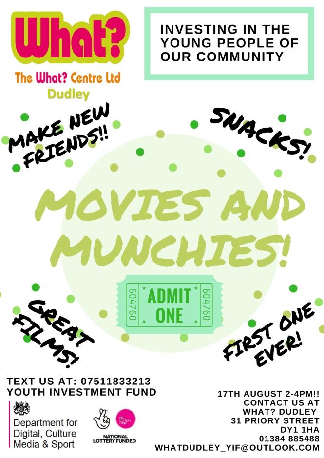 movies and munchies new
